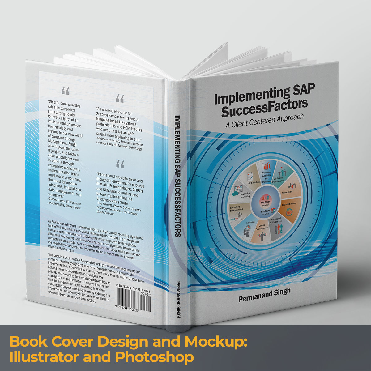 Book Cover Design and Mockup